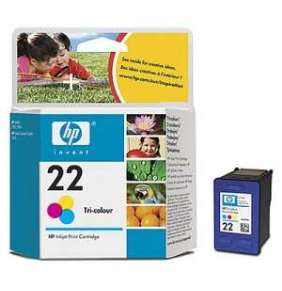 HP 22 Tri-color Ink Cart, 5 ml, C9352AE