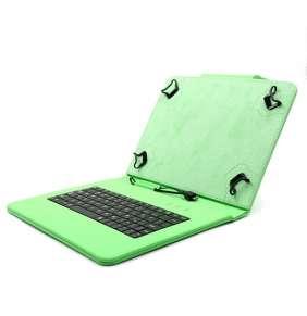 """C-TECH PROTECT pouzdro univerzální s klávesnicí pro 9,7""""-10,1"""" tablety, FlexGrip, NUTKC-04, zelené"""