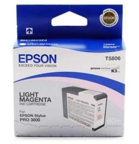 EPSON cartridge T580B vivid light magenta (80ml)