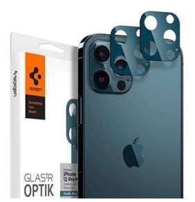 Spigen Optik Lens Protector pre iPhone 12 Pro Max - Blue