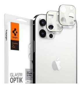 Spigen Optik Lens Protector pre iPhone 12 Pro - Silver