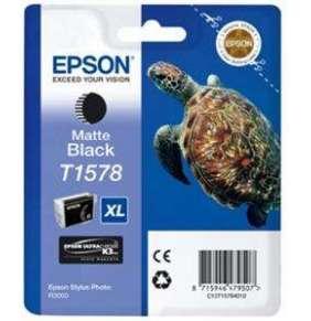 Atrament Epson T1578 Matte Black | 25,9 ml | R3000