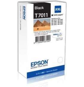 EPSON Ink čer WorkForce-4000/4500 - Black XXL - 3400str. (63,2 ml)