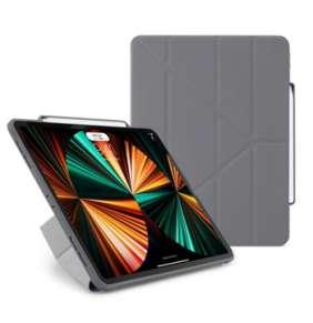 """Pipetto puzdro Origami Pencil Case pre iPad Pro 12.9"""" 2021 - Dark Grey"""