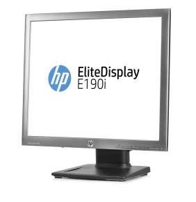 HP EliteDisplay E190i, 18.9 IPS, 1280x1024, 1000:1, 8ms, 250cd, VGA/DVI/DP, 3y, pivot