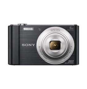"SONY DSC-W810B 20,1 MP, 6x zoom, 2,7 "" LCD - BLACK"