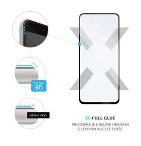 3D sklo FIXED Samsung Galaxy A72/A72 5G, plné lepení