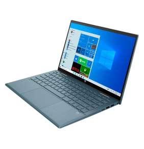 HP Pavilion x360 14-dy0004nc, i5-1135G7, 14.0 FHD/Touch, UMA, 8GB, SSD 512GB, noODD, W10H, 3-3-0, Spruce Blue
