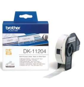 BROTHER DK-11204 Multi Purpose Labels  17x54mm (400 ks)