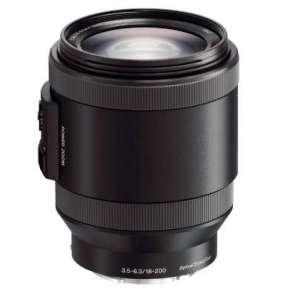 Sony objektiv SEL-P18200,18-200mm,F3,5-6,3 pro NEX