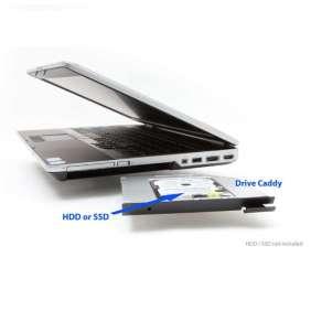 Dell rámecek pro sekundární HDD do Media Bay šachty pro Latitude E6320, E6420, E6520