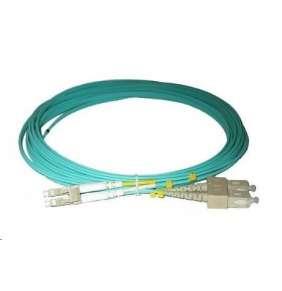 Duplexní patch kabel MM 50/125, OM3, LC-SC, LS0H, 20m