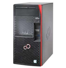 FUJITSU SRV TX1310M3 - E3-1225v6@3.3GHz, 16GB, DVDRW, 2x1TB, RAID 0,1 on b, 4xBAY3.5 SS 1x1000eth DP 250W - záruka 1rok