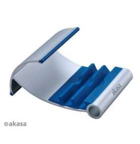 AKASA stojánek na tablet  AK-NC054-BL, hliníkový, modrý