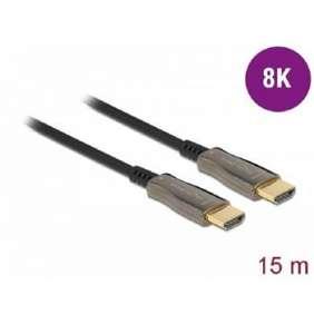 Delock Aktivní optický kabel HDMI 8K 60 Hz 15 m