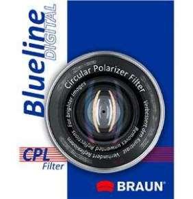 Braun C-PL BlueLine polarizační filtr 72 mm