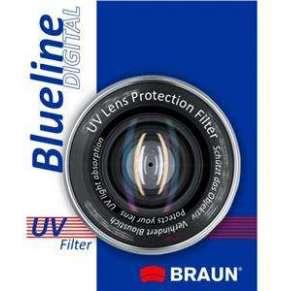 BRAUN UV filtr BlueLine - 58 mm