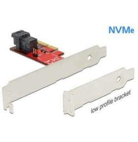 Delock PCI Express x4 Karta   1 x interní SFF-8643 NVMe – format low profile