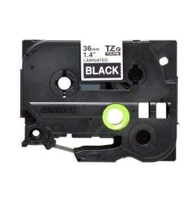 Brother - TZe-365, černá / bílá (36mm, laminovaná)