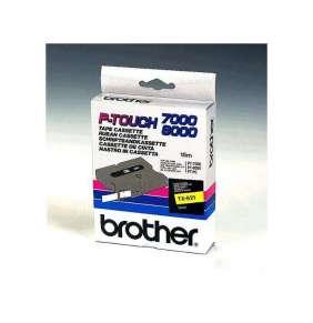 Brother - TX-621, žlutá / černá (9mm)