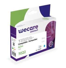 WECARE ink pro EPSON C13T70224010,modrá/cyan