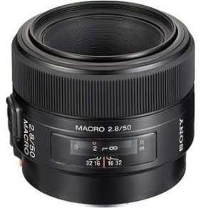 Sony makro objektiv 50mm SAL-50M28 pro ALPHA