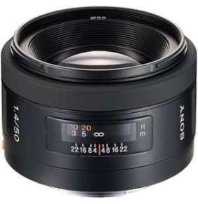 Sony standardní objektiv 50mm SAL-50F14 pro ALPHA