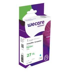 WECARE ink pro EPSON C13T27124012,modrá/cyan