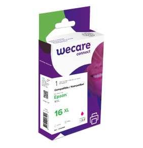 WECARE ink pro EPSON C13T16334012,červená/magenta