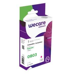 WECARE ink pro EPSON C13T08034011,červená/magenta