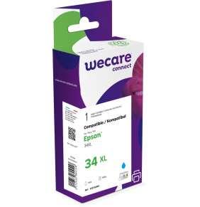 WECARE ink pro EPSON C13T34724010,modrá/cyan