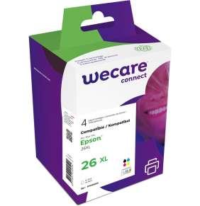 WECARE ink sada pro EPSON C13T26364010,CMYK