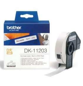 Brother - DK-11203 (papírové/databáze-300ks) 17x87mm