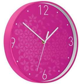 Nástěnné hodiny WOW růžová