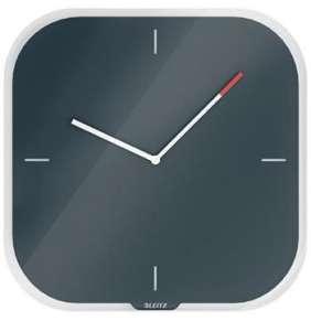 Nástěnné hodiny Leitz Cosy, sametová šedá