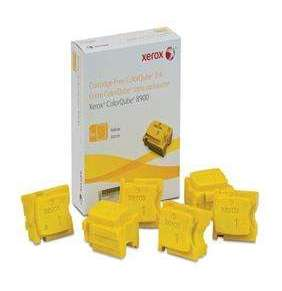 XEROX COLORQUBE INK YELLOW, COLORQUBE 8900 (6 STICKS), DMO
