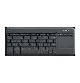 Logitech® K400 Professional Wireless Touch Keyboard - GRAPHITE - US INT'L