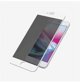 PanzerGlass ochranné sklo Camslider Privacy pre iPhone 7 Plus/8 Plus - White Frame