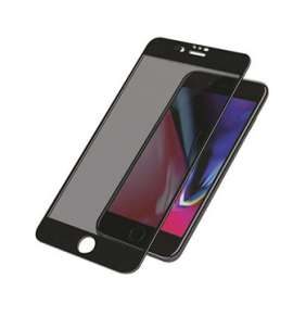 PanzerGlass ochranné sklo Camslider Privacy pre iPhone 7 Plus/8 Plus - Black Frame