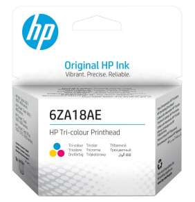 HP tisková hlava 6ZA18AE/ Tri-color