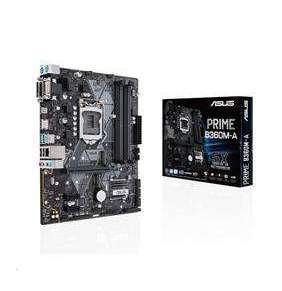 ASUS MB Sc LGA1151 PRIME B360M-A, Intel B360, 4xDDR4, VGA, mATX