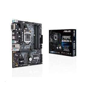 ASUS PRIME B360M-A soc.1151 B360 DDR4 mATX M.2 USB3.1 HDMI DVI D-Sub