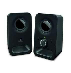 Logitech Z150 Multimedia Speakers - MIDNIGHT BLACK - 3.5 MM