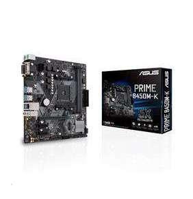 ASUS MB Sc AM4 PRIME B450M-K, AMD B450, 2xDDR4, VGA, mATX