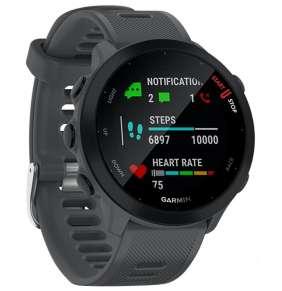 GARMIN běžecké GPS hodinky Forerunner 55 Grey