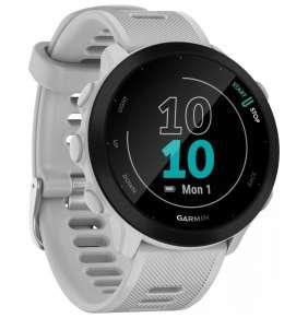 GARMIN běžecké GPS hodinky Forerunner 55 White
