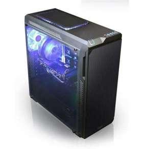 Zalman case miditower Z9 NEO PLUS, bez zdroje, průhledná bočnice, černá