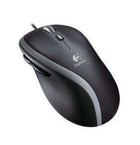 Logitech myš M500, laserová, 7 tlačítek, černá,1000dpi