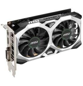 MSI GeForce GTX 1650 D6 VENTUS XS  / PCI-E / 4GB GDDR6 / HDMI / DP / DVI-D / active