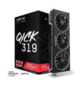 XFX Radeon RX 6800 QICK 319 Black 16GB/256-bit GDDR6 HDMI 3xDP
